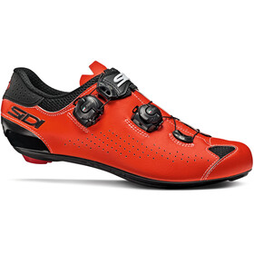 Sidi Genius 10 Shoes Men, black/red fluo